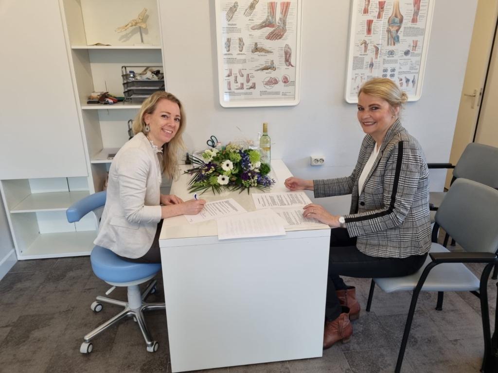 Melissa Voskuil Podotherapie nu Astrid Bode